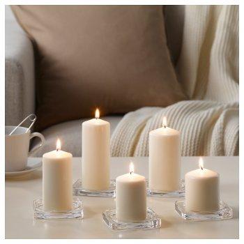 Набор свечей IKEA FENOMEN 5 шт 803.779.37