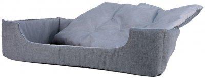 Лежак для кішок і собак Фортнокс FX home Rosto 63 х 46 х 15 см Сірий (2820000013453)