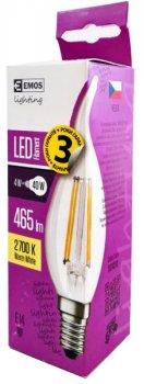 Світлодіодна лампа Emos LED C35 4W 2700К E14 (DZ74210)