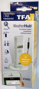 Датчик TFA температури/вологості WeatherHub 30330202