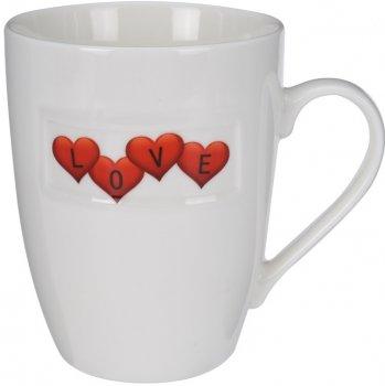 Чашка Excellent Houseware 350 мл (Q75900090_love_hearts)
