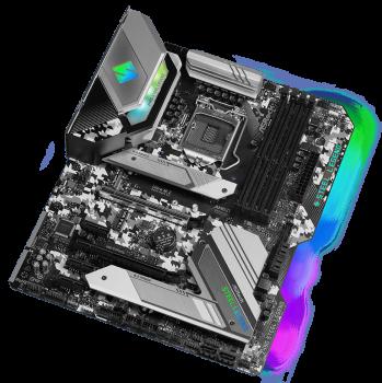 Материнська плата ASRock Z490 Steel Legend (s1200, Intel Z490, PCI-Ex16)
