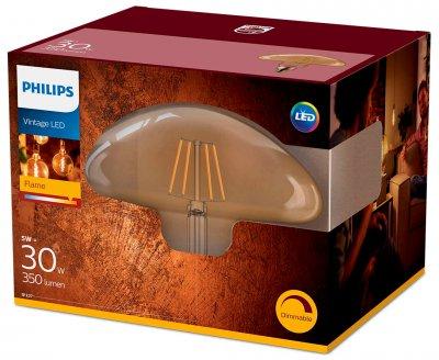 Світлодіодна лампа Philips Filament LED Classic 30W Mushroom E27 2000K GOLD D (929001935601)