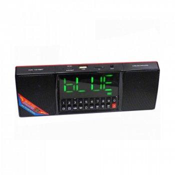 Портативна колонка MP3 годинник WS-1515 bluetooth Black