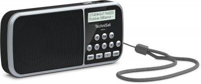 Портативний цифровий радіоприймач TechniSat VIOLA 3 з светодиоидным ліхтариком, чорний (0000/3924)