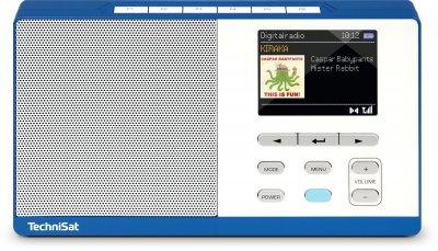 Дитячий радіоприймач TechniSat DIGITRADIO KIRA 1 Темносине-білий (0002/4995)