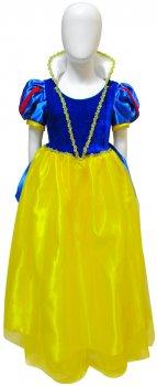 Платье Seta Decor Белоснежка 17-971 115-135 см Желто-голубое (2000046009010)