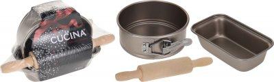 Набір форм для випікання + качалка La Cucina з 3 предметів (170113140)