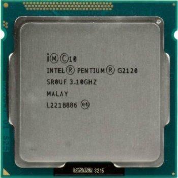 Процессор Intel Pentium G2120 Tray (LGA1155/ 2x3.1GHz / 5 GT/s / 3MB / 55 Вт ) Б/У
