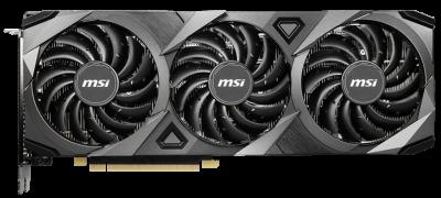 MSI PCI-Ex GeForce RTX 3070 VENTUS 3X OC 8GB GDDR6 (256bit) (HDMI, 3 x DisplayPort) (RTX 3070 VENTUS 3X OC)