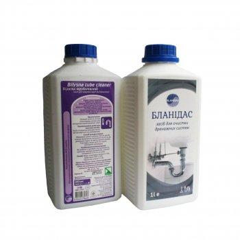 Средство для очистки дренажных систем Бланидас 1 л