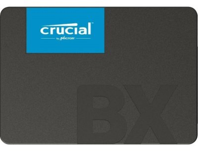 "Твердотільний диск SSD 2.5"" 120GB Crucial BX500 SATA 3, 3D TLC, Read/Write - 540Mb/s /500Mb/s (CT120BX500SSD1)"