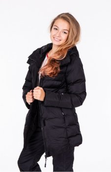 Куртка женская Just Play Recin черный (b2358-black)