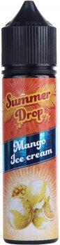 Рідина для електронних сигарет Summer Drop Mango Ice Cream (Манго + морозиво)