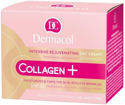 Крем Dermacol Collagen Plus дневной омолаживающий интенсивный SPF10 50 мл (8595003110310)
