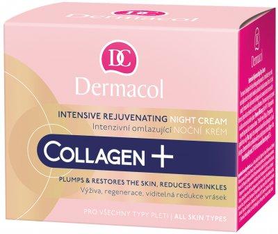 Крем Dermacol Collagen Plus ночной омолаживающий интенсивный 50 мл (8595003110341)