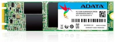 Накопичувач SSD A-DATA Ultimate SU800 256GB M. 2 2280 SATA 6Gb/s 3D NAND TLC (ASU800NS38-256GT-C)