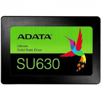 """Накопичувач SSD A-DATA Ultimate SU630 960GB 2.5"""" SATAIII 3D QLC (ASU630SS-960GQ-R)"""