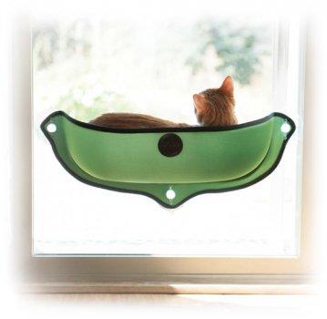 Лежак на вікно для кішок K & H Pet Products Ez Mount Window Bed 69 х 28 см (9192) (655199091928)