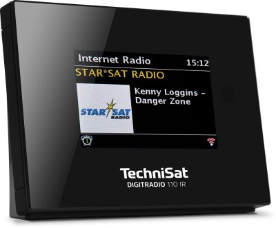 Адаптер радиопотоковый TechniSat DIGITRADIO 110 IR DAB+ Radio - Multiroom Streaming Adapter Чорний (0010/4958)