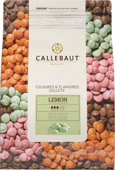 Бельгийский шоколад Callebaut Lemon Callets в виде каллет со вкусом лимона 2.5 кг (5410522515695)