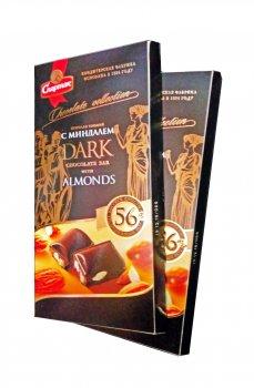 Шоколад Спартак горький с миндалём 90 г