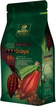 Чорний шоколад Cacao Barry Inaya 65% у формі калет 1 кг (3073416101620)