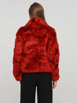 Эко полушубок H&M 285697s67 Красный