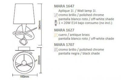 Бра Mantra 1647 Mara