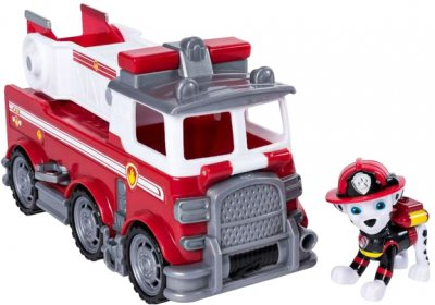 Спасательный автомобиль Spin Master Paw Patrol Щенячий патруль: чрезвычайная миссия с водителем Маршал (SM16702/1525) (778988151525)