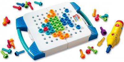 Навчальний ігровий набір Educational Insights Закручуй і вчися Валіза для інструментів (EI-4117) (6900006500280)