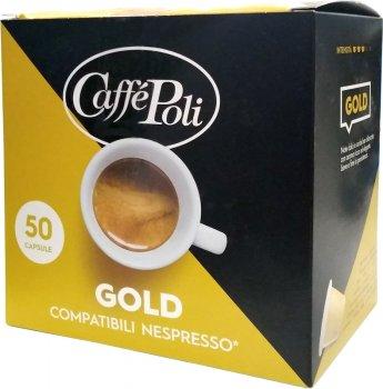 Кофе в капсулах Caffe Poli Gold 5.2 г х 50 шт (8019650003530)