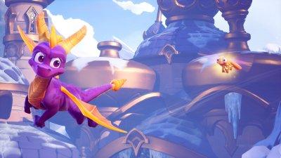 Игра Spyro Reignited Trilogy для PS4 (Blu-ray диск, English version)