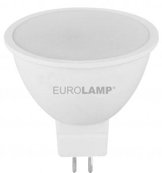 Світлодіодна лампа EUROLAMP SMD MR16 7 W GU5.3 4000 K (LED-SMD-07534(P)) 2 шт.