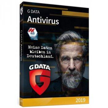 Продовження G Data AntiVirus 1 рік 2 ПК