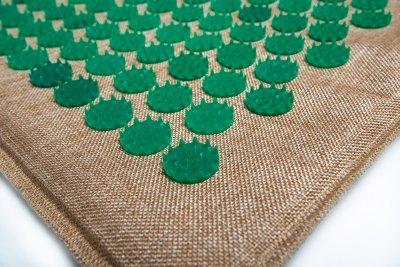 Масажний килимок (аплікатор Кузнєцова) Lounge Medium 68*42 см Зелений