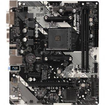 Материнская плата ASRock AB350M-HDV R4.0
