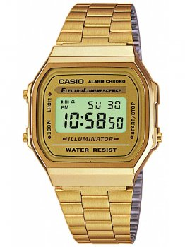 Годинник CASIO A168WG-9EF Collection 35mm 3ATM