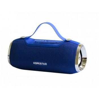 Портативная bluetooth колонка спикер Hopestar H40 Синий