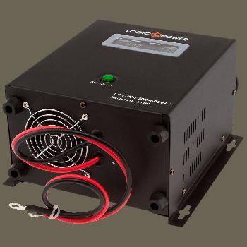 Джерело безперебійного живлення LogicPower LPY-W-PSW-500VA+
