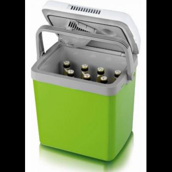Портативний автомобільний холодильник Severin KB 2922 Зелено білий (S3199)