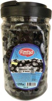 Маслины вяленые Fimtad Yagli Salamura S 1200 г (8681957370815)