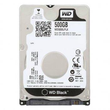"""Жорсткий диск для ноутбука 2.5"""" 500GB WD (WD5000LPLX)"""