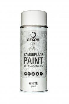 Фарба маскувальна аерозольна RecOil (Біла мат)