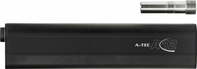 Саундмодератор A-TEC A12 кал. 12/76 + адаптер для Beretta Optima HP