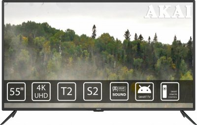 Телевізор AKAI UA55LEP1UHD9 (F00209460)
