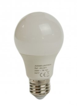 Енергозберігаюча лампочка 7W (E27) 550lm Avenor 6х10,8см Білий 32000000093468