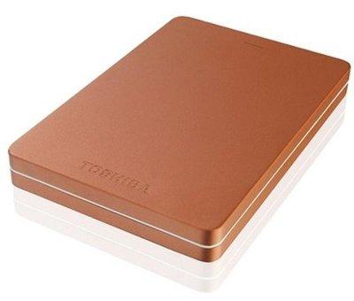 "Зовнішній жорсткий диск HDD 2.5"" USB 3.0 1Tb Toshiba Canvio Alu 2018 Red (HDTH310ER3AB)"