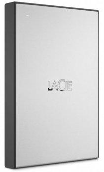 """Зовнішній жорсткий диск HDD 2.5"""" USB 3.0 1Tb LaCie Drive Silver (STHY1000800)"""