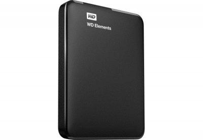 """Зовнішній жорсткий диск HDD 2.5"""" USB 3.0 750GB WD Elements Portable Black (WDBUZG7500ABK-WESN)"""